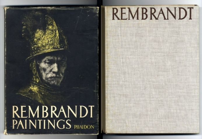 REMBRANDT SELECTED PAINTINGS Book by PROF BORENIUS Plates PUBLISHER PHAIDON 1944